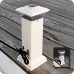 CleatLite Solar Dock Light