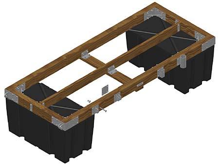 building floating deck