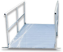 Aluminum Gangway with Handrails