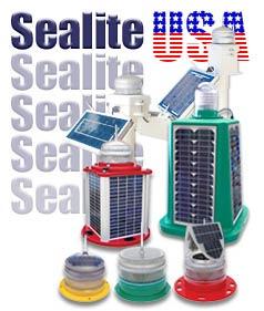Solar Dock Lights Sealite Solar Marine Lights Carmanah Solar Powered LED